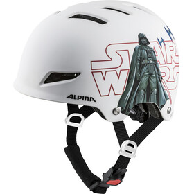 Alpina Park Helmet Juniors Star Wars-white